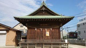 成増菅原神社 神楽殿
