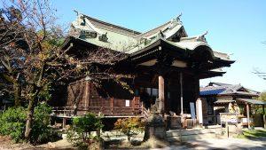半田稲荷神社 拝殿