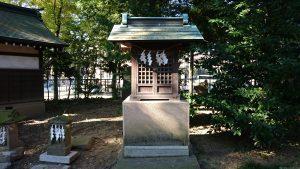半田稲荷神社 雷神社