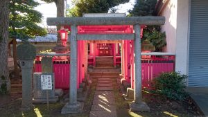新井天神北野神社 稲荷神社 鳥居