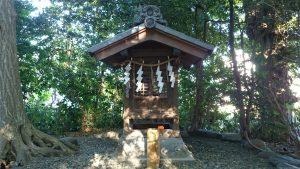 櫻木神社(野田市) 日天社 社殿