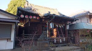新井天神北野神社 拝殿