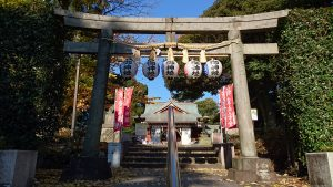 沼袋氷川神社 二の鳥居