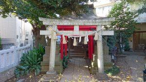 大和町八幡神社 むすび稲荷神社 鳥居