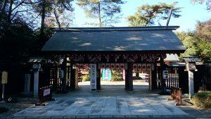 櫻木神社(野田市) 神門