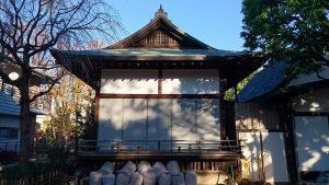 新井天神北野神社 神楽殿
