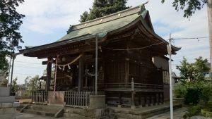 成増菅原神社 拝殿