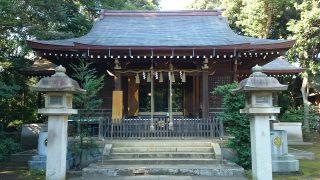 城山熊野神社(志村熊野神社)