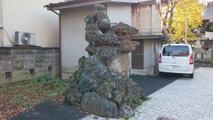 隅田稲荷神社 獅子山狛犬 吽