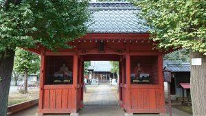 赤塚諏訪神社 随神門
