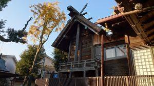 隅田稲荷神社 本殿
