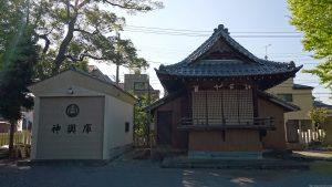 半田稲荷神社 神楽殿