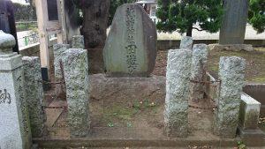 赤塚諏訪神社 田遊び神事の碑