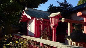 新井天神北野神社 稲荷神社 社殿