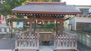 隅田稲荷神社 手水舎