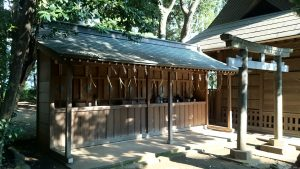 城山熊野神社 境内社合殿