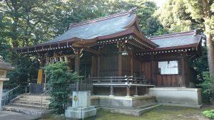 城山熊野神社 拝殿