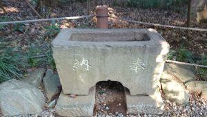 櫻木神社(野田市) 文化元年六月水鉢