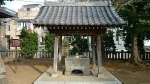 赤塚諏訪神社 手水舎