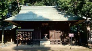 城山熊野神社 絵馬殿(旧拝殿)