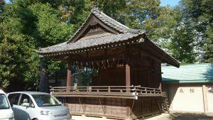 城山熊野神社 神楽殿
