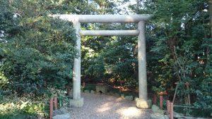 櫻木神社(野田市) 末社鳥居