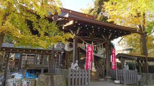 隅田稲荷神社 拝殿