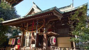 大和町八幡神社 拝殿