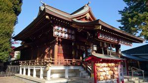 沼袋氷川神社 拝殿