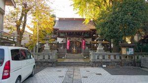 隅田稲荷神社 拝殿前