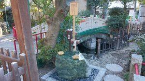 江島杉山神社 銭洗泉