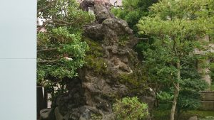 八幡八雲神社 獅子山 吽