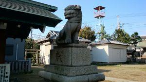 高砂天祖神社 狛犬 吽