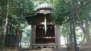 高松八幡神社 末社五社合殿