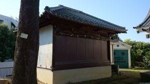 西熊野神社 神楽殿