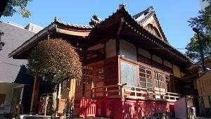 江島杉山神社 社殿