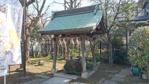 隅田川神社 手水舎
