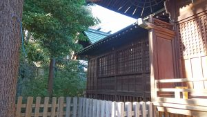 上高田氷川神社 本殿