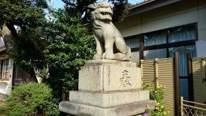 高砂天祖神社 狛犬 阿