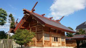 高砂天祖神社 拝殿
