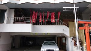 初音森神社儀式殿 全景
