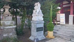 八幡八雲神社 中国獅子