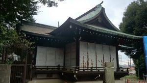 高松八幡神社 神楽殿