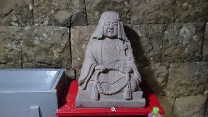 江島杉山神社 杉山和一検校像