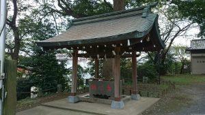 高松八幡神社 手水舎