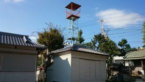 高砂天祖神社 火の見櫓