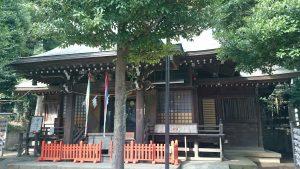 高松八幡神社 拝殿