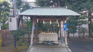 八幡八雲神社 手水舎