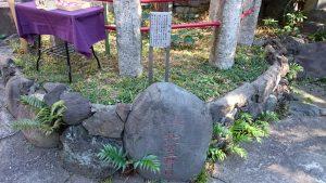 江島杉山神社 力石
