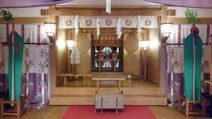 初音森神社 儀式殿